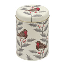 Robin Tea Caddy