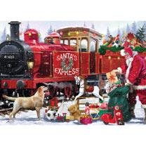 Santa's Express Jigsaw