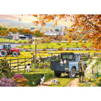 Countryside Morning Jigsaw
