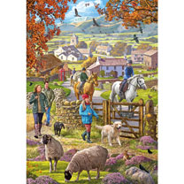Autumn Walk Jigsaw