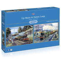 Up Main & Down Loop Jigsaws - 2 x 500pce