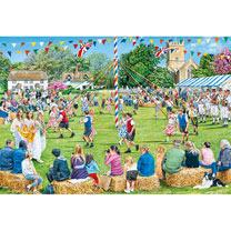 Village Celebrations Jigsaws - 4 x 500pce
