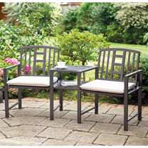 Garden Chair Duo & Table