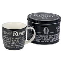 Mug in a Tin - Rugby