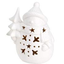 LED Santa and Snowman