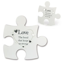 Jigsaw Photo Frame - Love