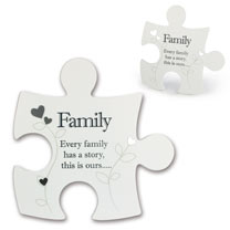 Jigsaw Photo Frame - Family