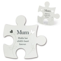 Jigsaw Photo Frame - Mum