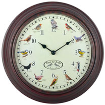 Bird Sounds Clock
