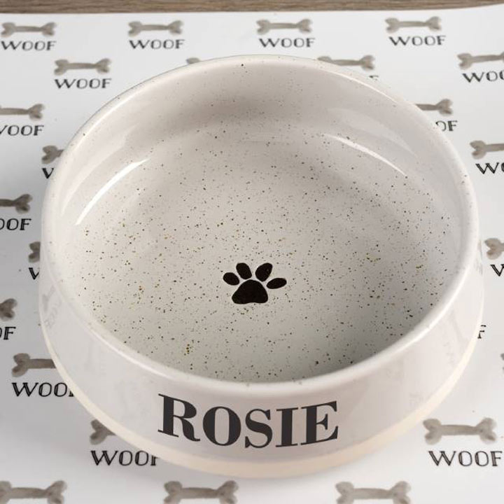 Personalised Pet Bowl - Large