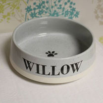 Personalised Pet Bowl - Small
