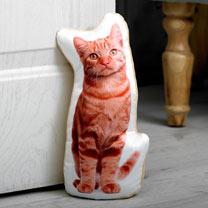 Ginger Cat Doorstop