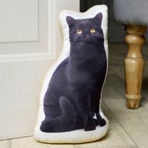 Black Cat Doorstop