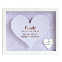 Sentiment Heart Frame - Family