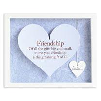 Sentiment Heart Frame - Friendship