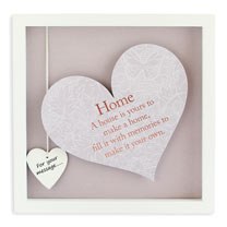 Sentiment Heart Frame - Home