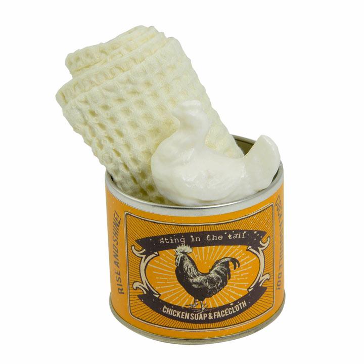 Cockerel Soap Tin