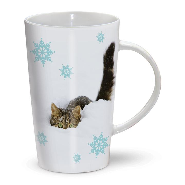 Peepo Cat Mug & Spoon
