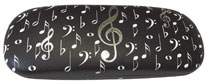 Music Note Glasses Case