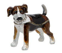 Terrier Trinket Box