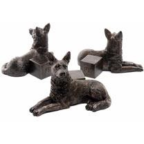 German Shepherd Pot Feet