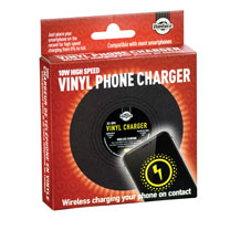 Vinyl Record Phone Charger