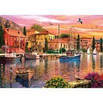 Sails at Sunset Jigsaw
