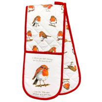 Robin Apron / Oven Glove / Tea Towel / Tea Cosy