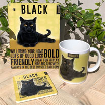 Black Cat Gift Set