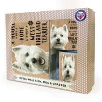 West Highland White Terrier Gift Set