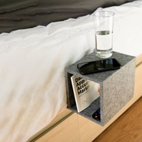 Cube Bedside Caddy