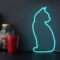 Cat Neon Light