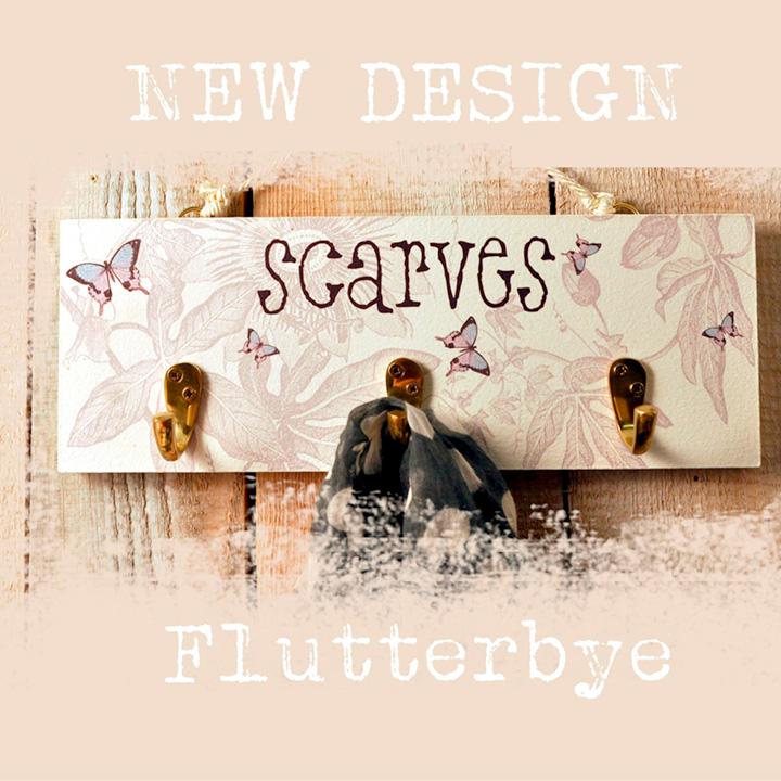 Flutterbye Scarf Rack