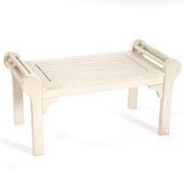 Lutyens Low Level Table - White