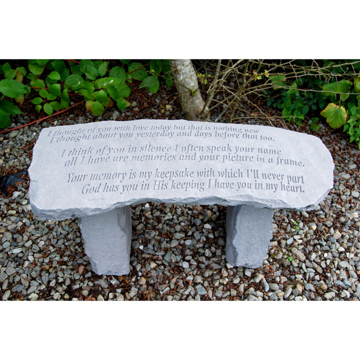 Memorial Bench - Always In Your Thoughts