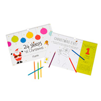 Personalised Children's Book - 24 sleeps 'til Christmas