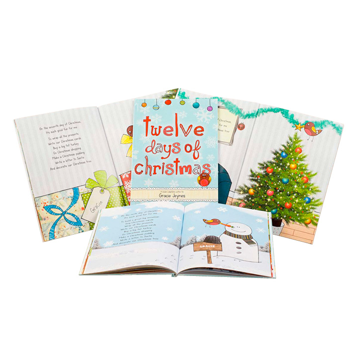 Personalised Children's Book - 12 Days of Christmas