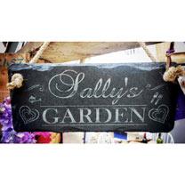 Personalised Garden Sign - Her