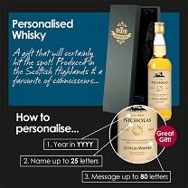 Personalised Malt Whisky