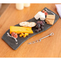 Slate Wave Tray/Cheese Board