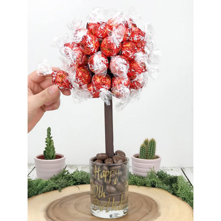 Personalised Lindor Chocolate Tree