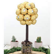 Personalised Ferrero Rocher Tree