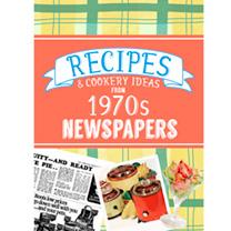 1970s Recipes Softback Book
