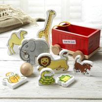 Personalised Animal Skittle Set