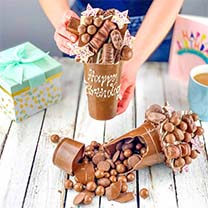 Personalised Chocolate Smash Cup