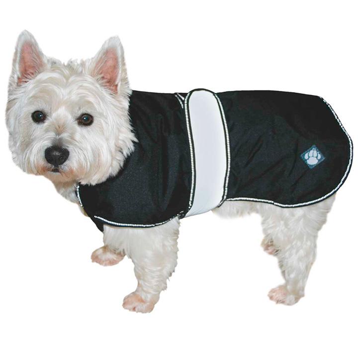 2 in 1 Dog Coat - Black