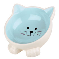 Orb Cat Bowl - Blue