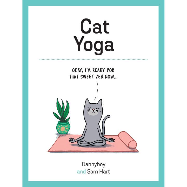 Cat Yoga Book