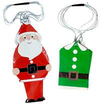 Santa & Elf Tags
