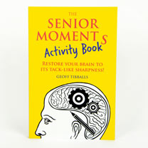 Senior Moments Activity Book